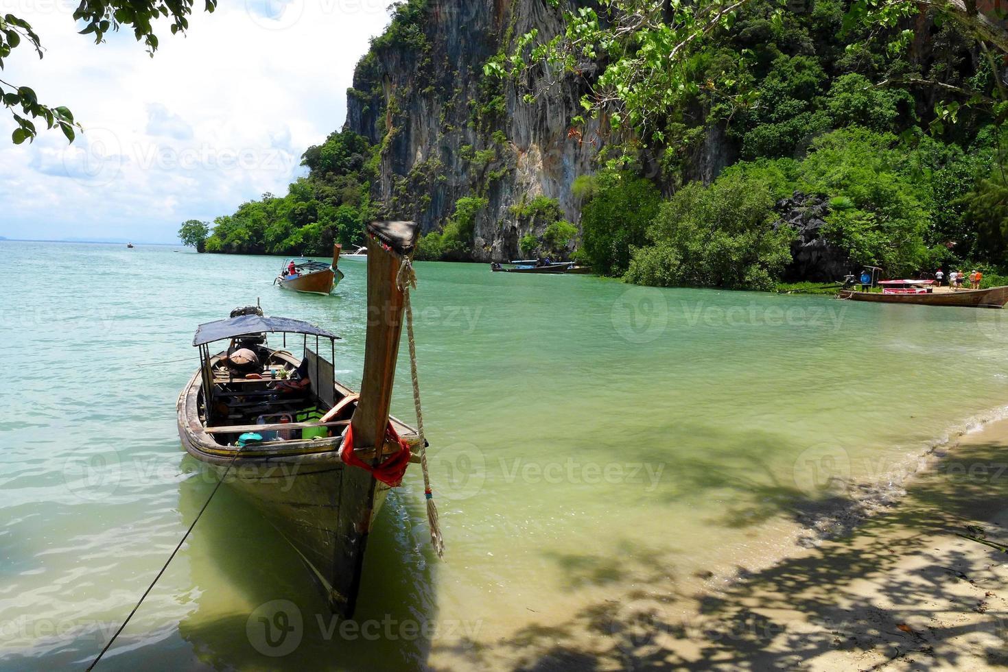 railey, krabi thailand havet foto