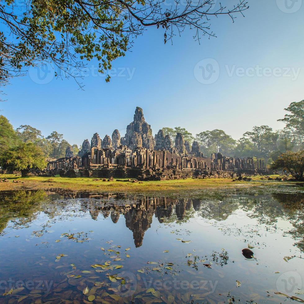 Bayon Castle, Kambodja foto