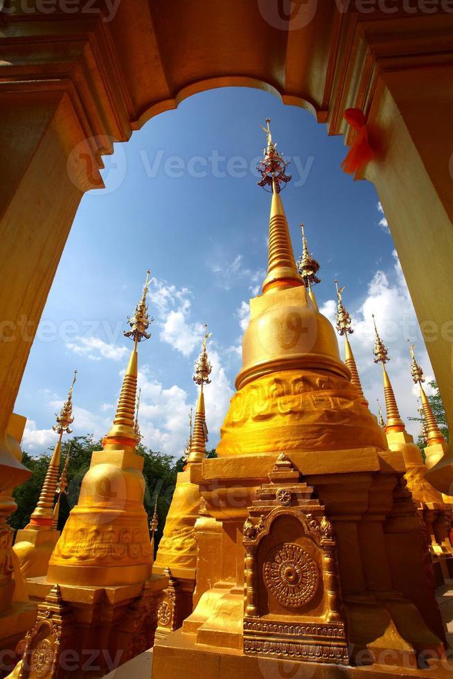 wat pasawangboon saraburi provins, Thailand foto