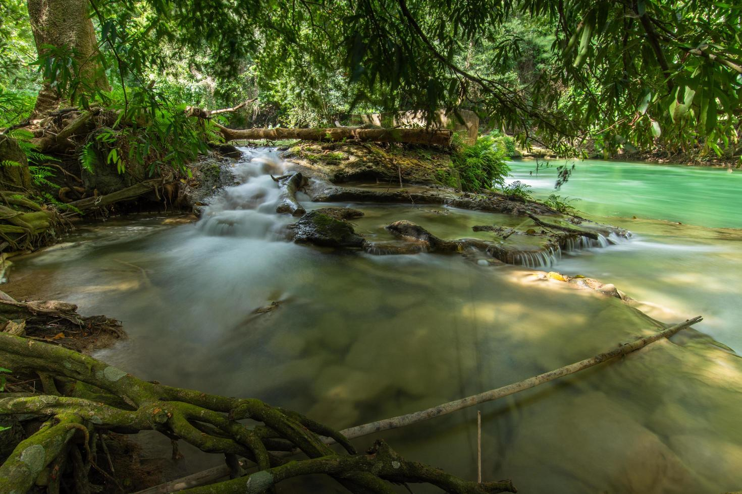 Chet Sao Noi vattenfall nationalpark foto