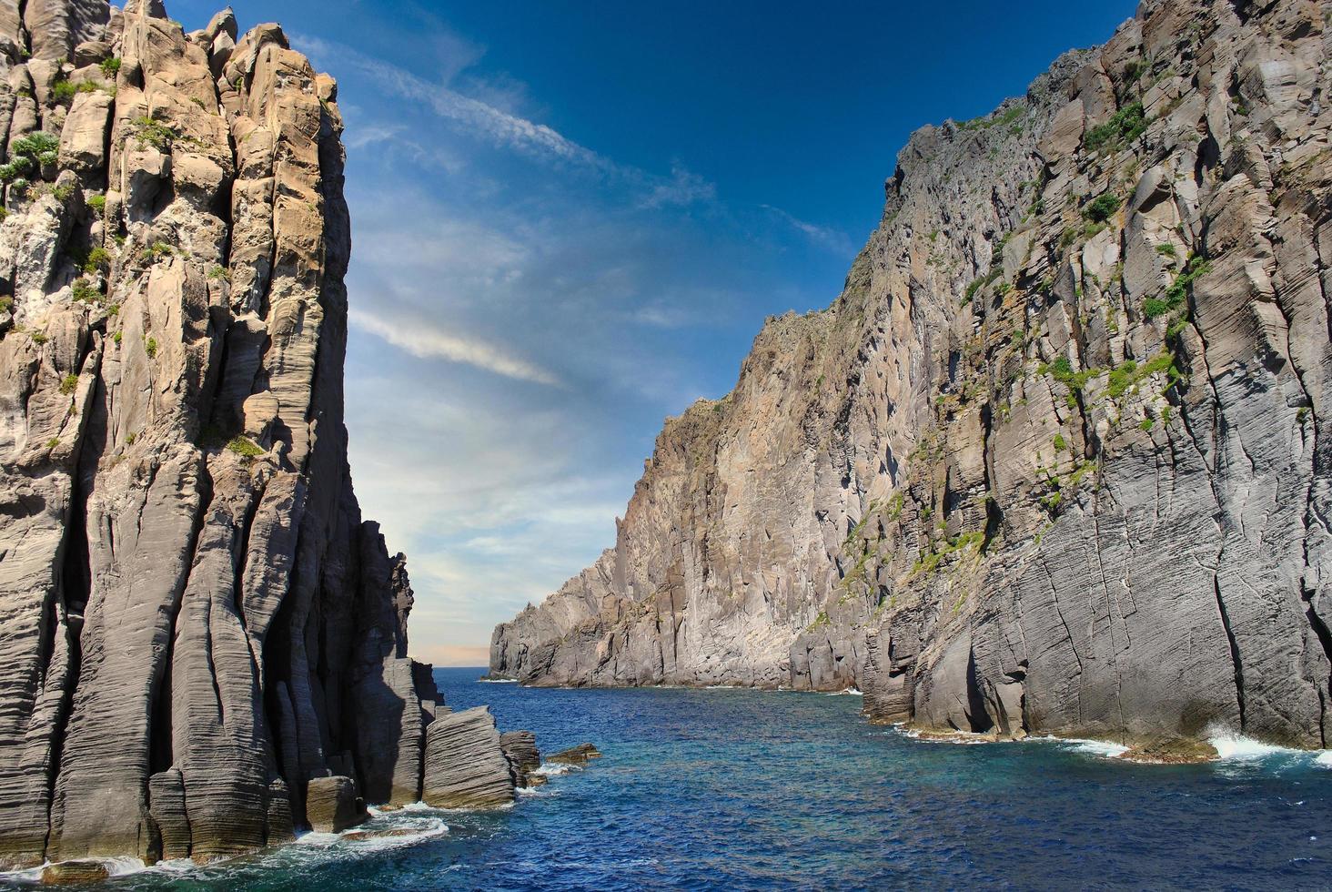 panarea ö på de aoliska öarna foto