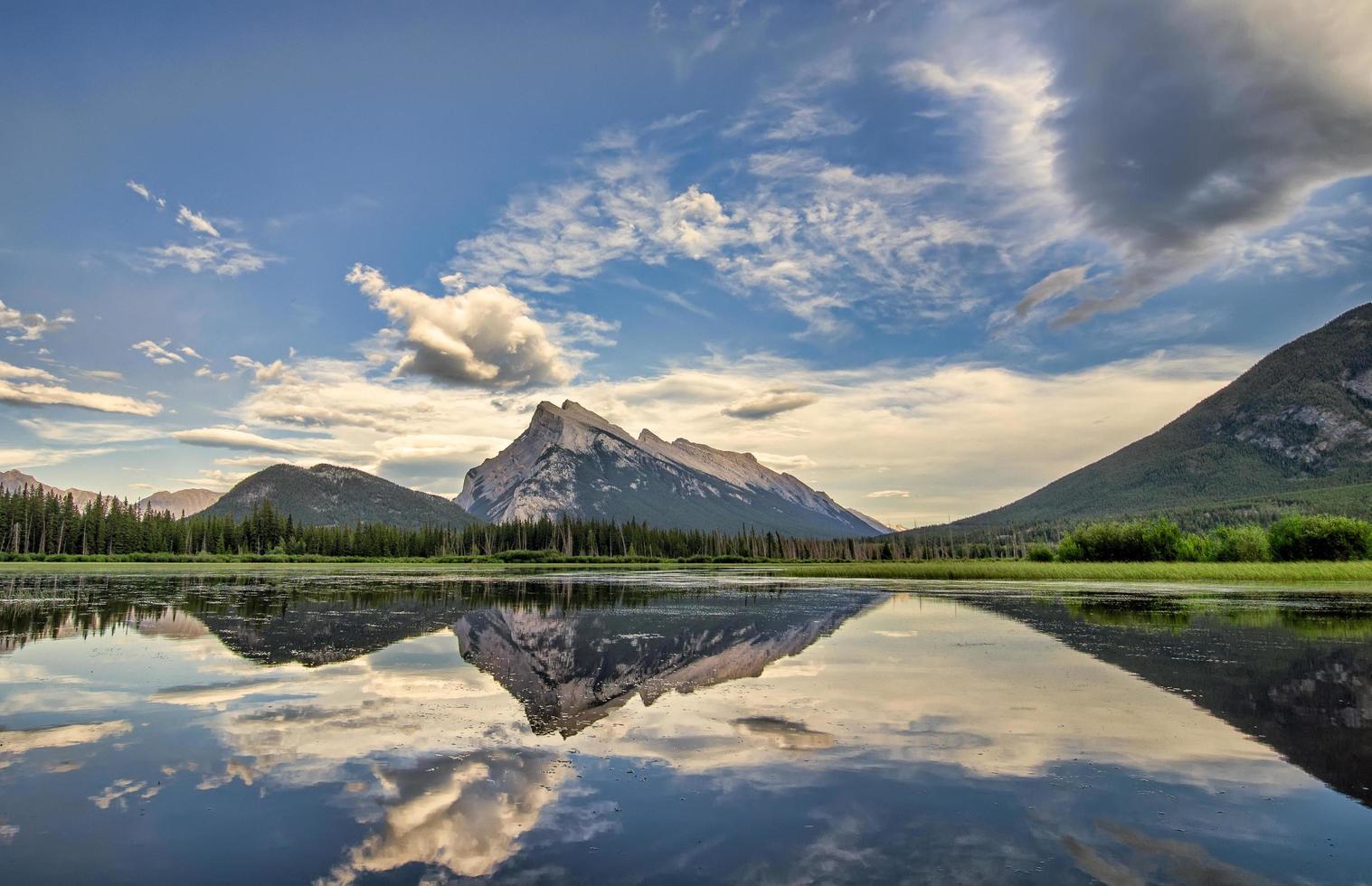 banff nationalpark i Kanada foto