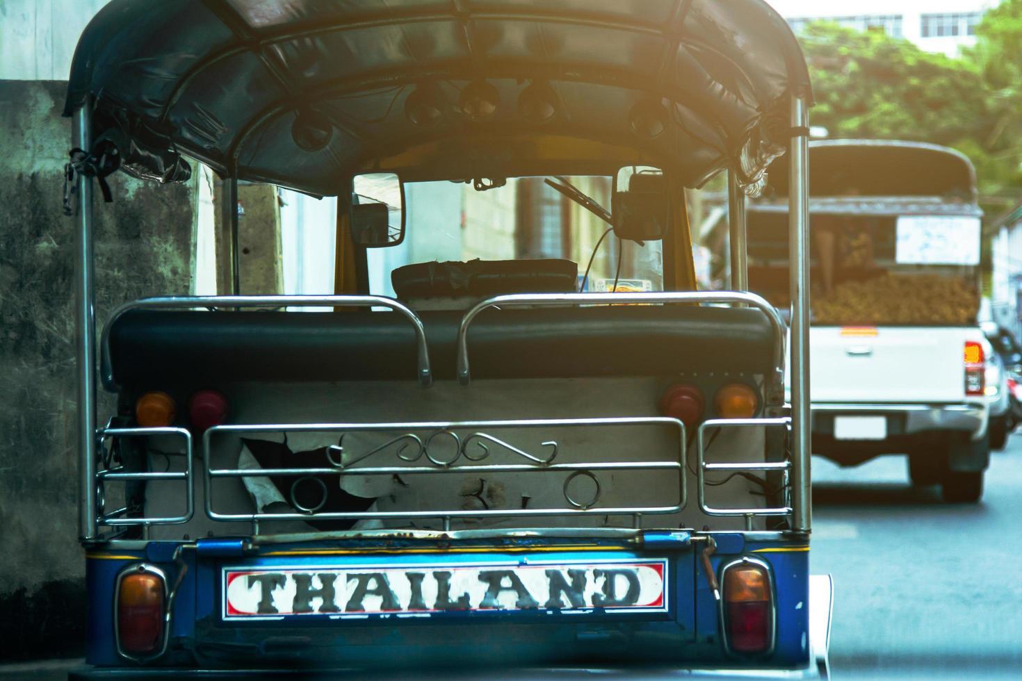 auto rickshaw i Thailand foto