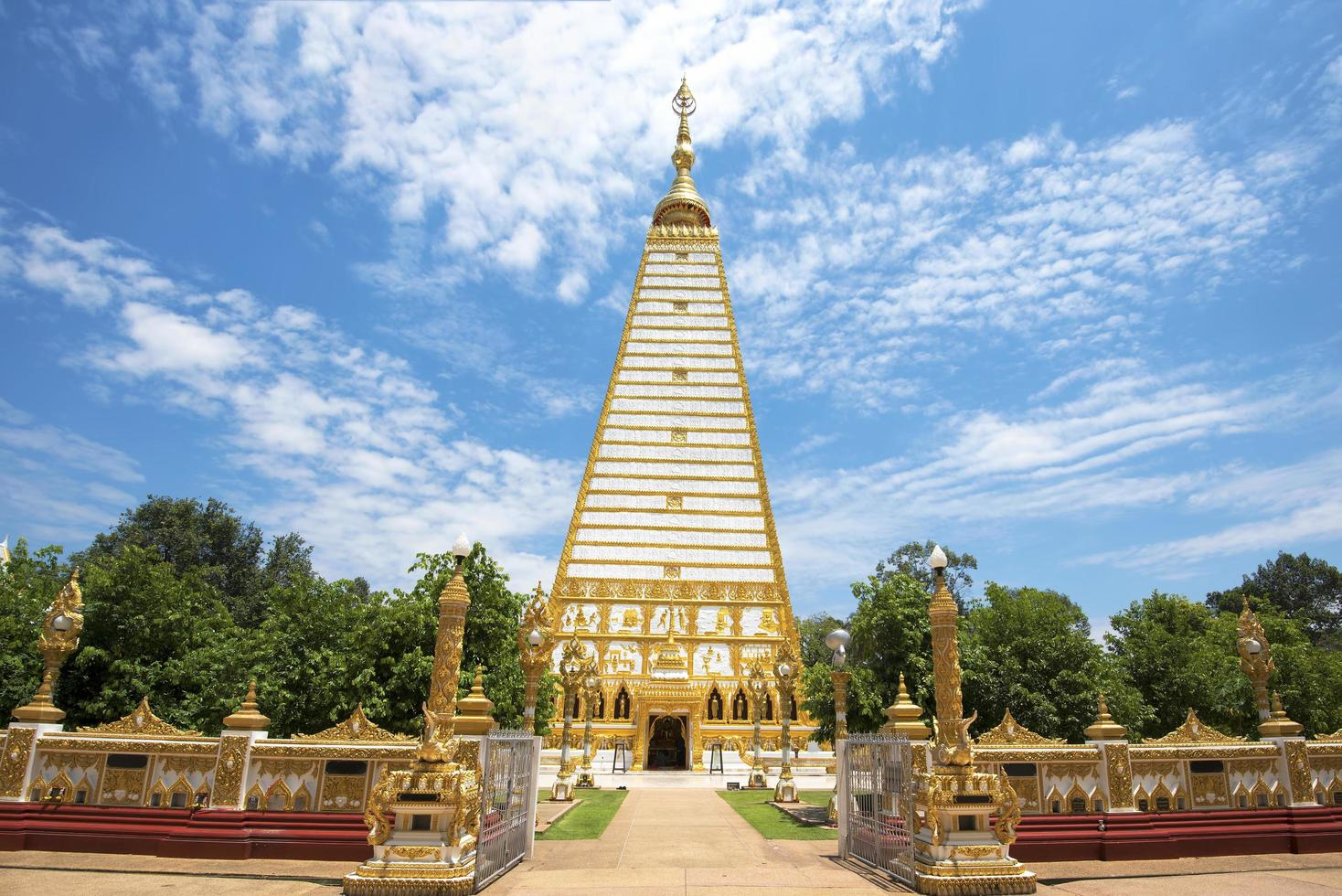 wat frathat nong bua i Thailand foto