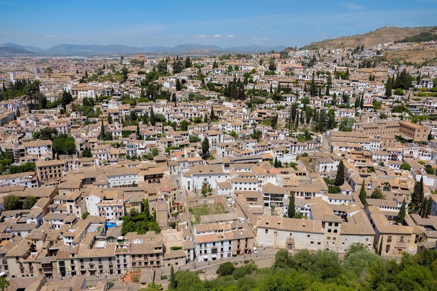 albayzin community i Granada, Spanien foto