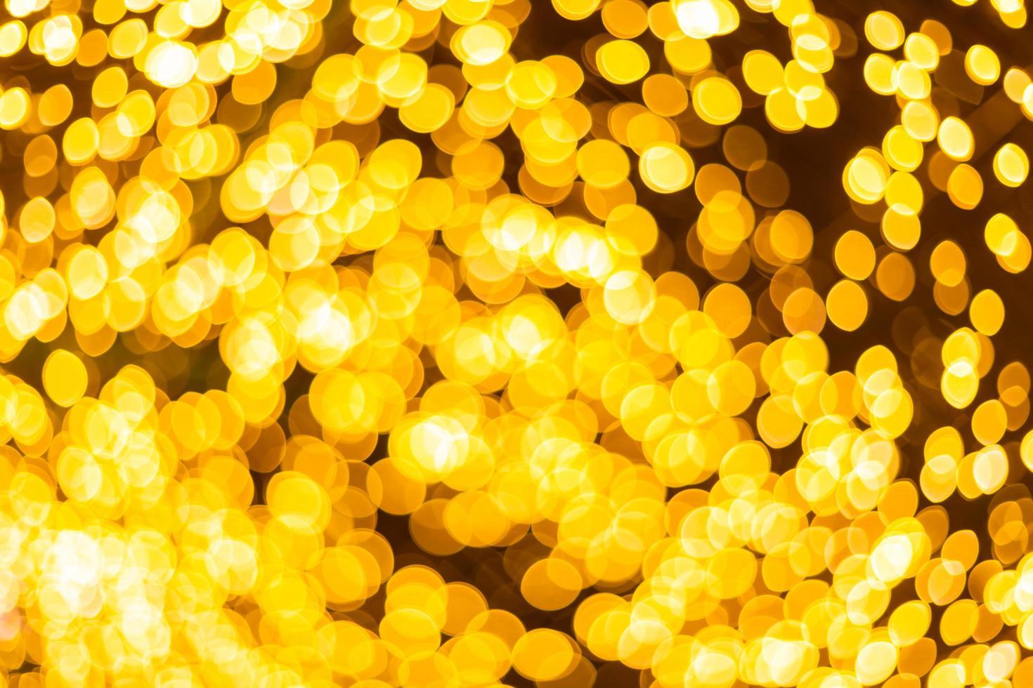 färgglada gyllene bokeh foto