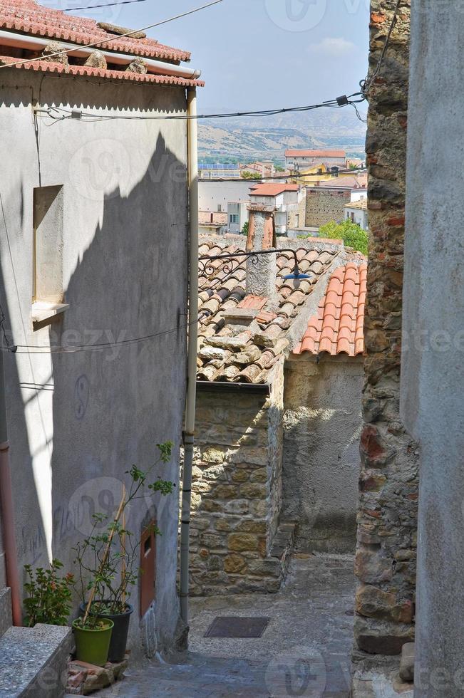 bakgata. Valsinni. basilicata. Italien. foto