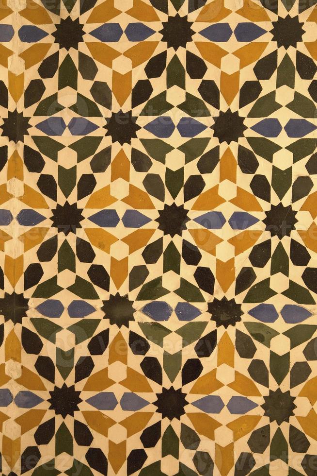 dekorativa keramiska plattor foto