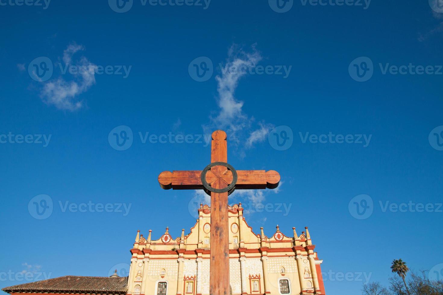 san cristobal katedral, chiapas, mexico foto