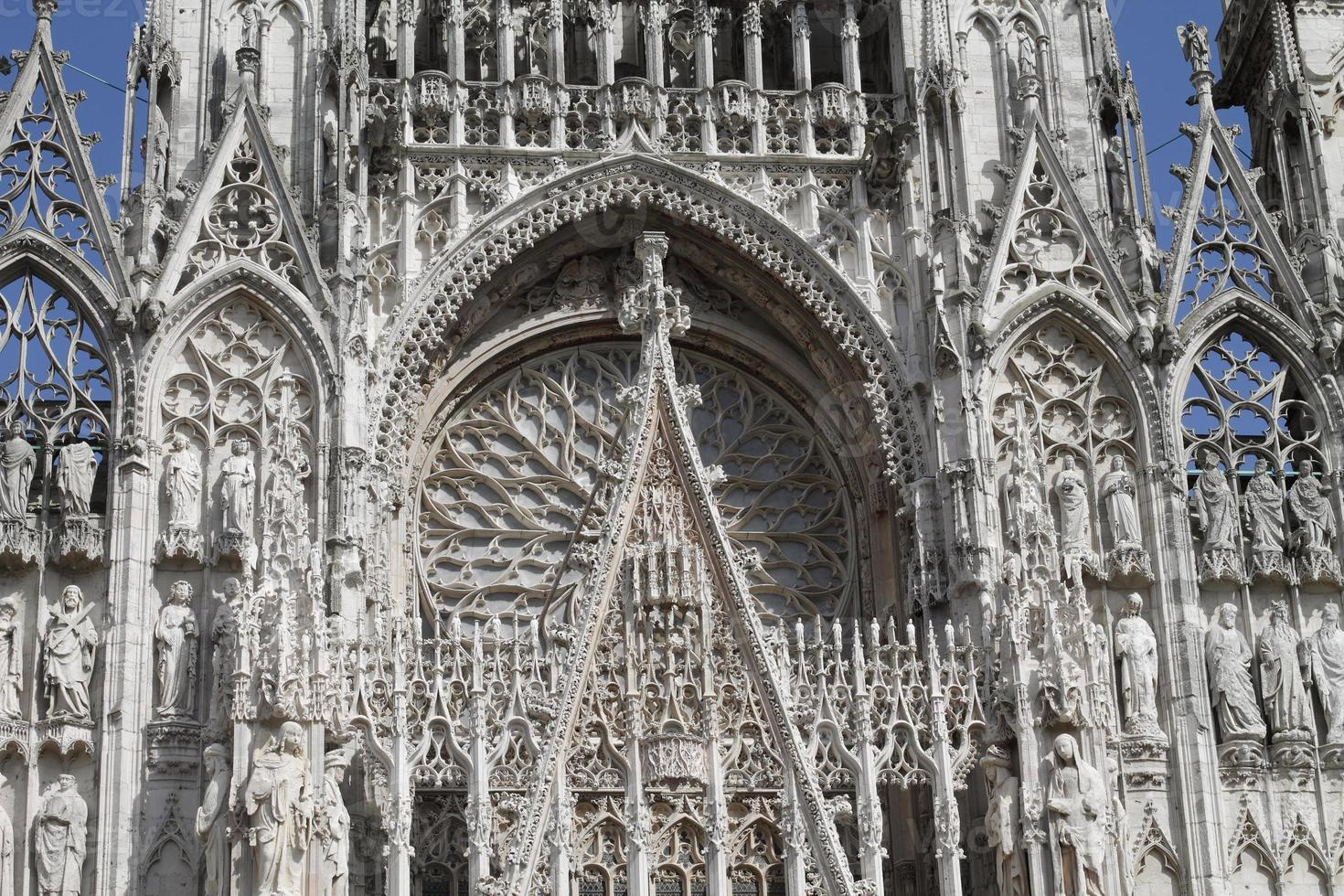 katedralen i rouen foto