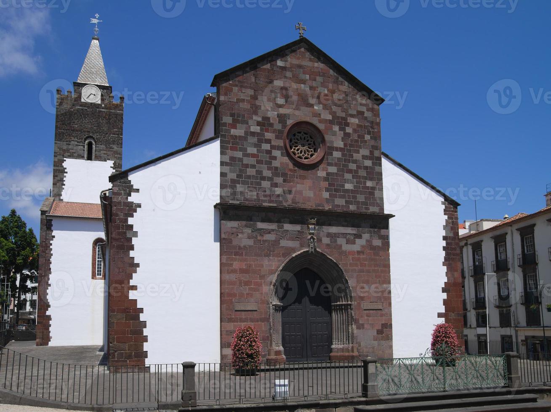 katedralen i funchal, madeira foto