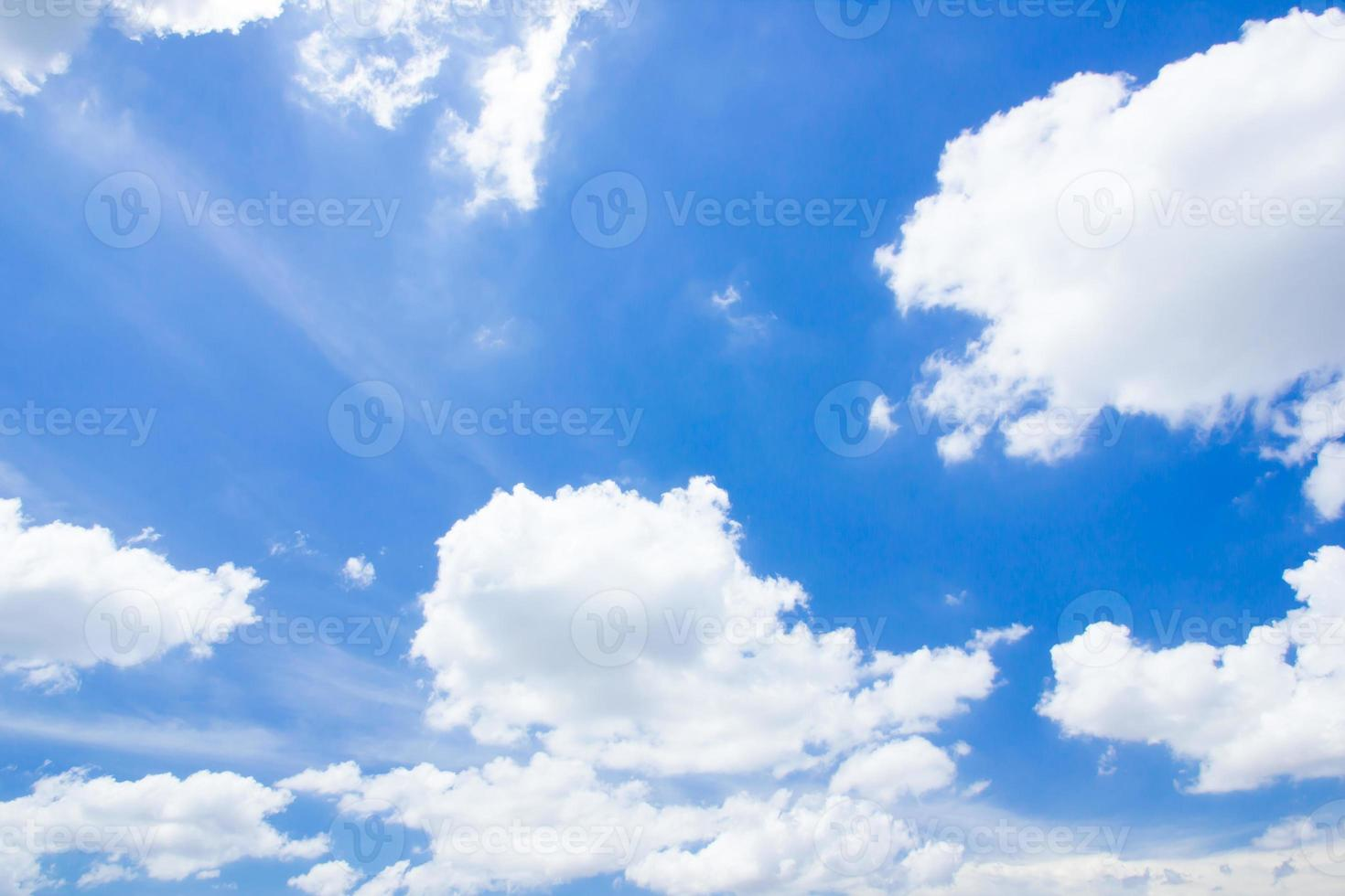 blå himmel foto