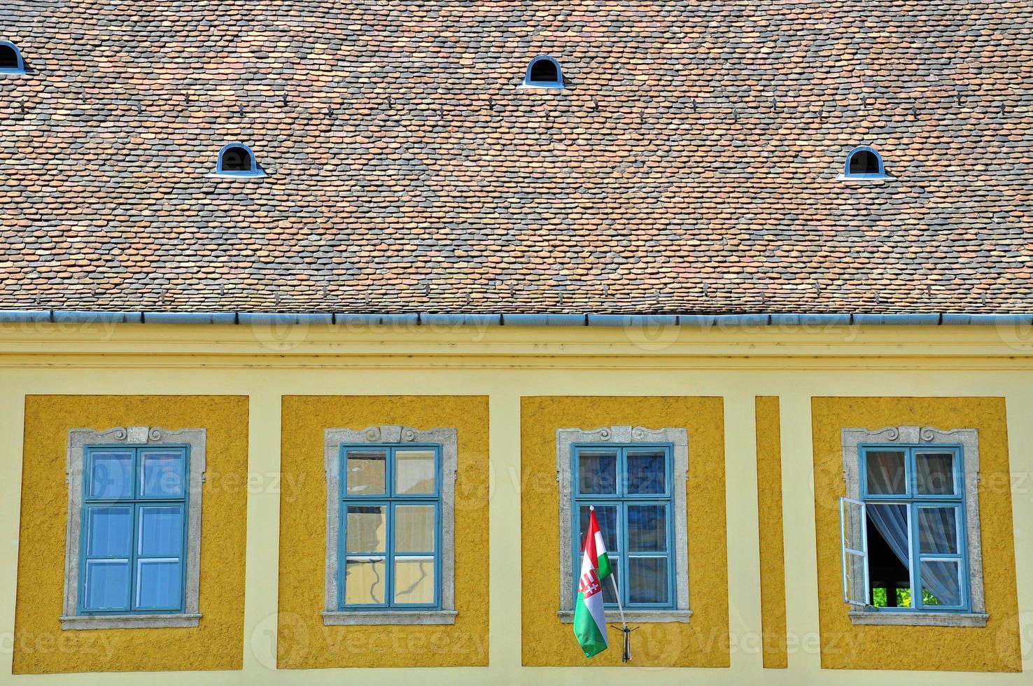 tak och fönster foto