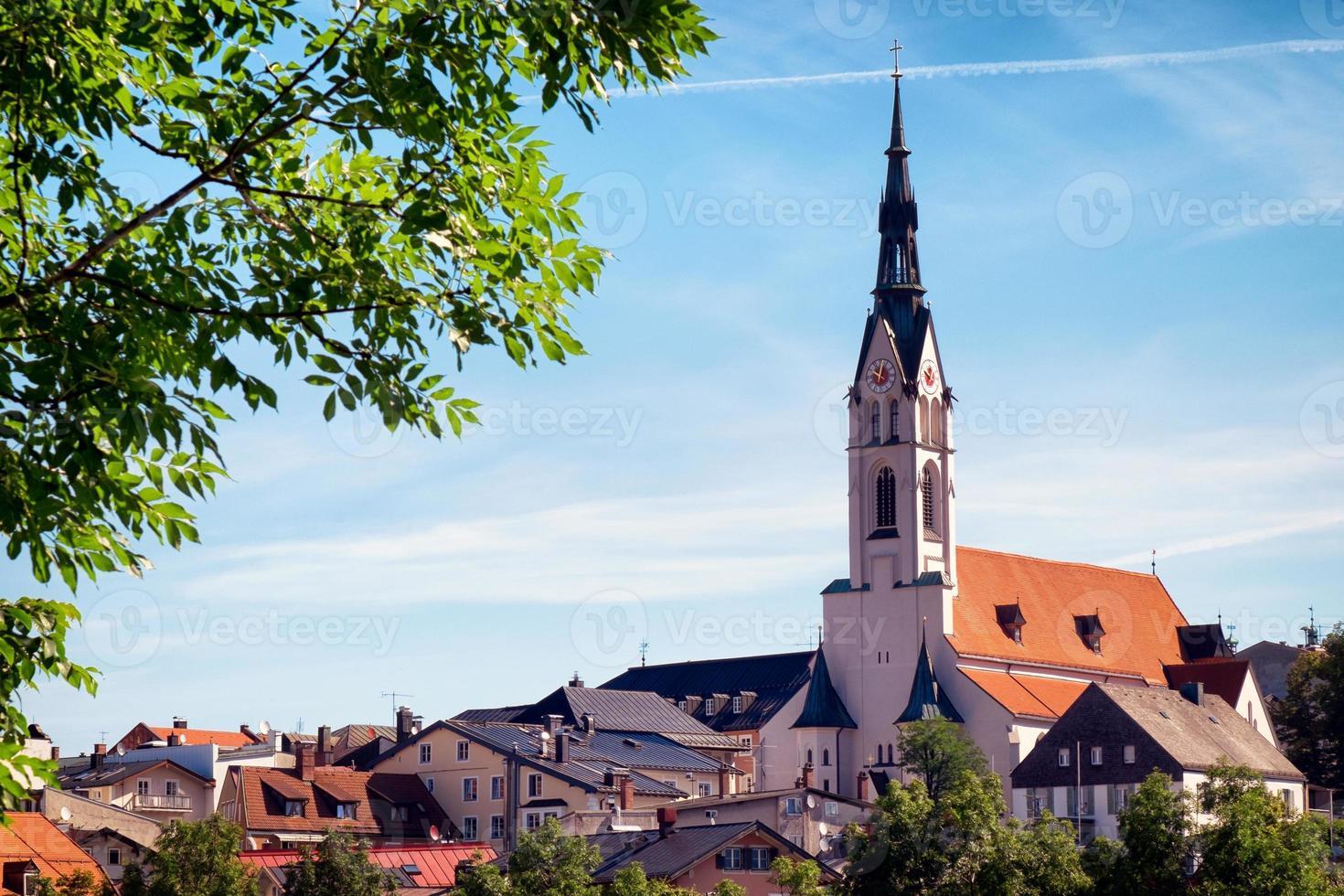 berömda bayerska kyrkan foto