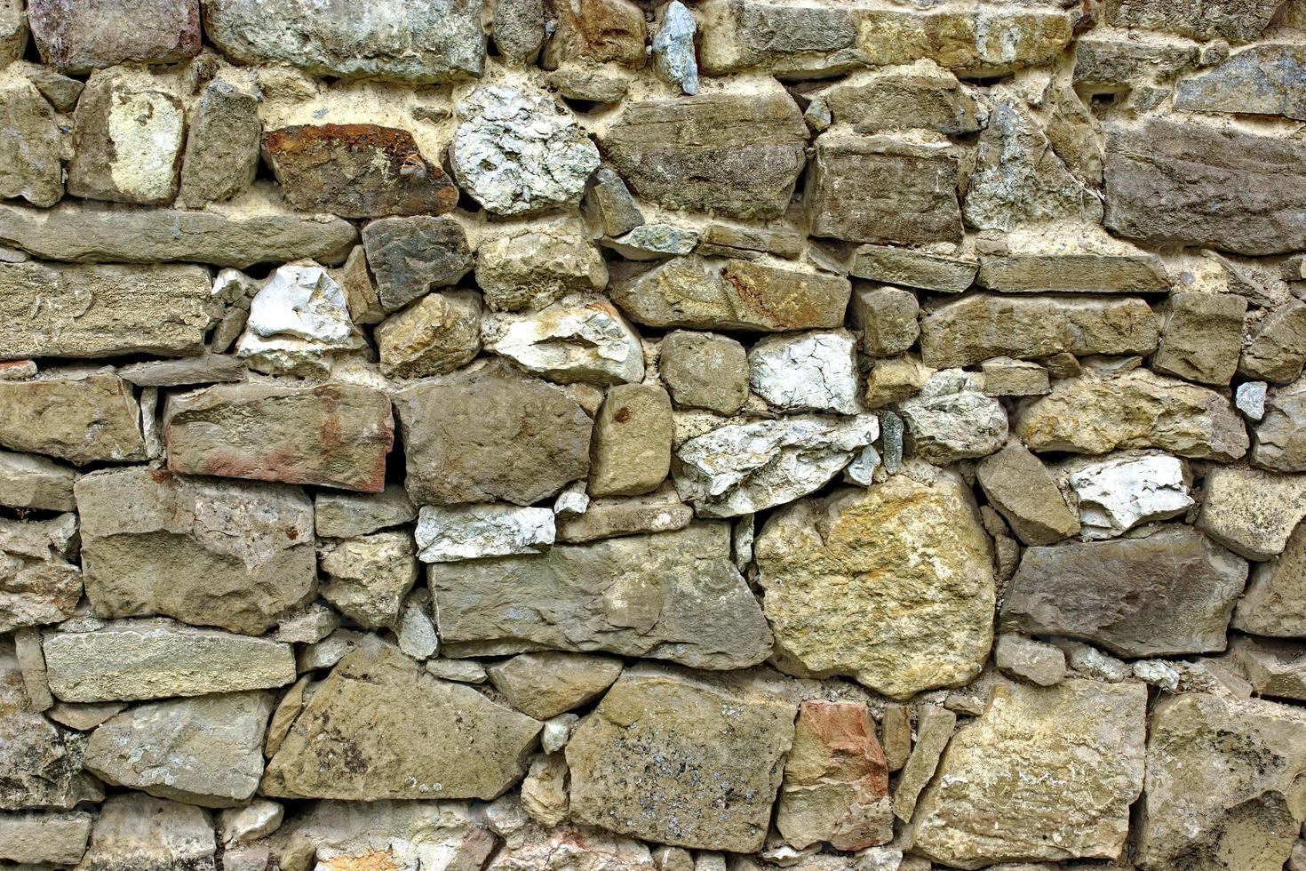 gammal stenhuggervägg foto