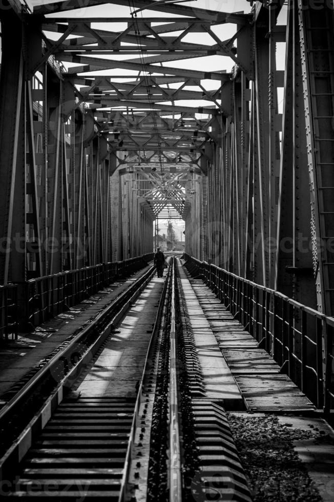 järnvägsbro foto