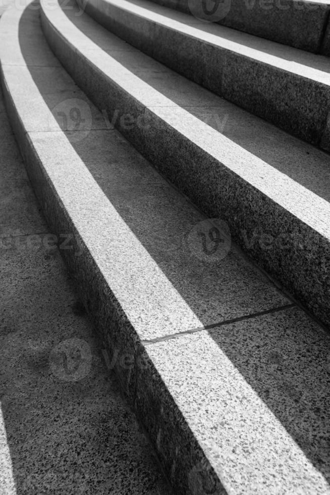 arkitektonisk design av trappor foto