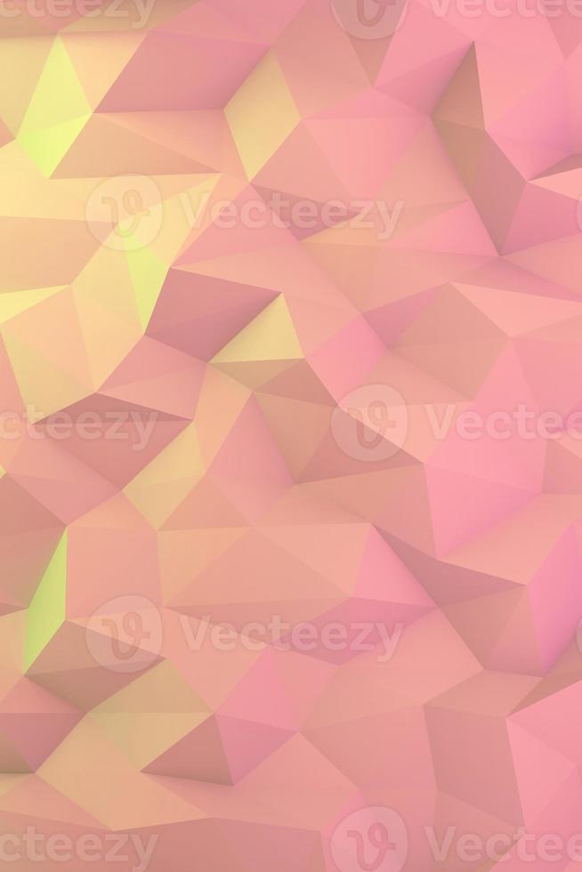 abstrakt färgglad låg polygon bakgrund foto