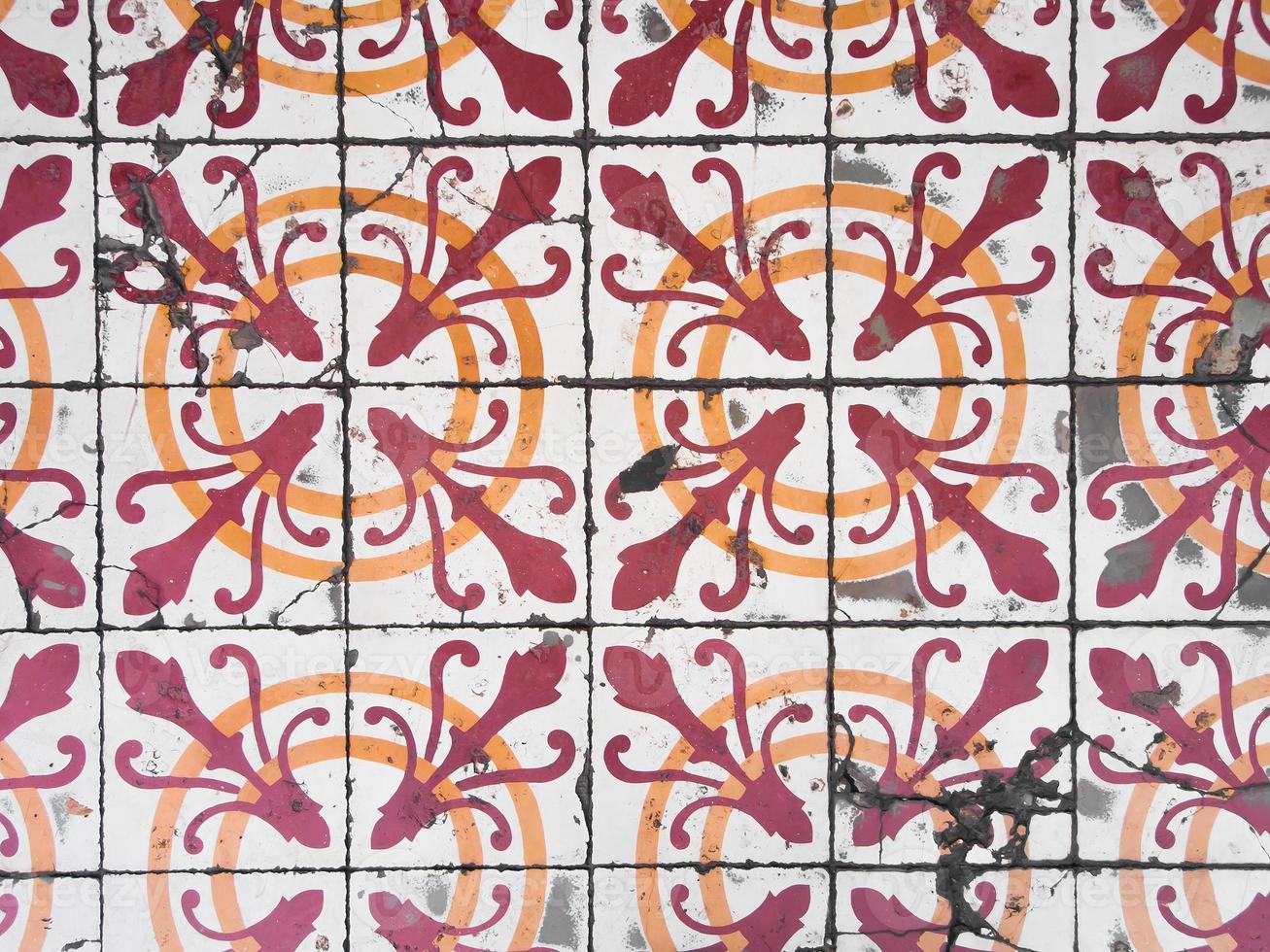 chino portugisiska gamla brickor. foto