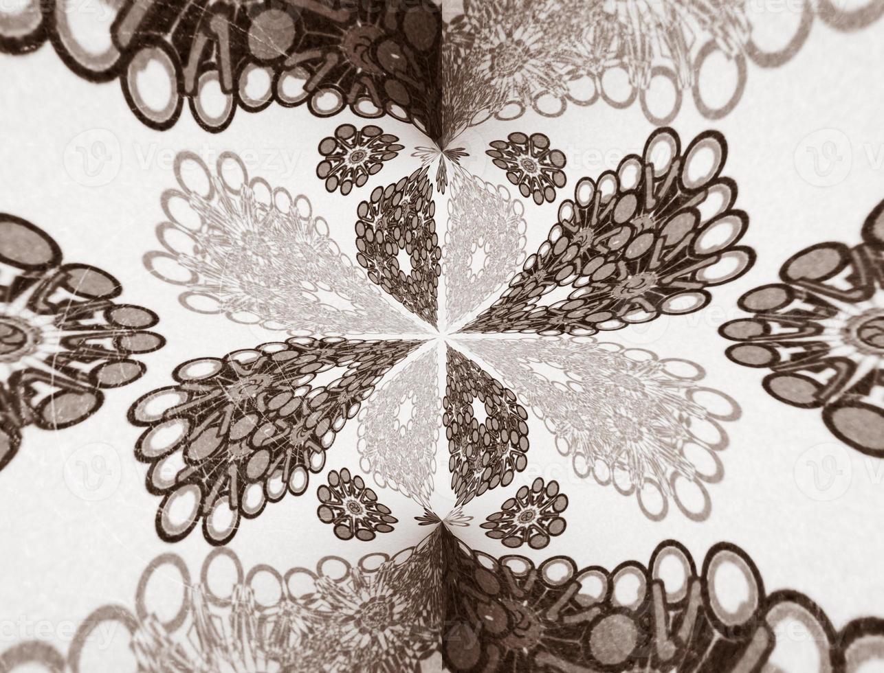 dekorativt motiv design bakgrund foto