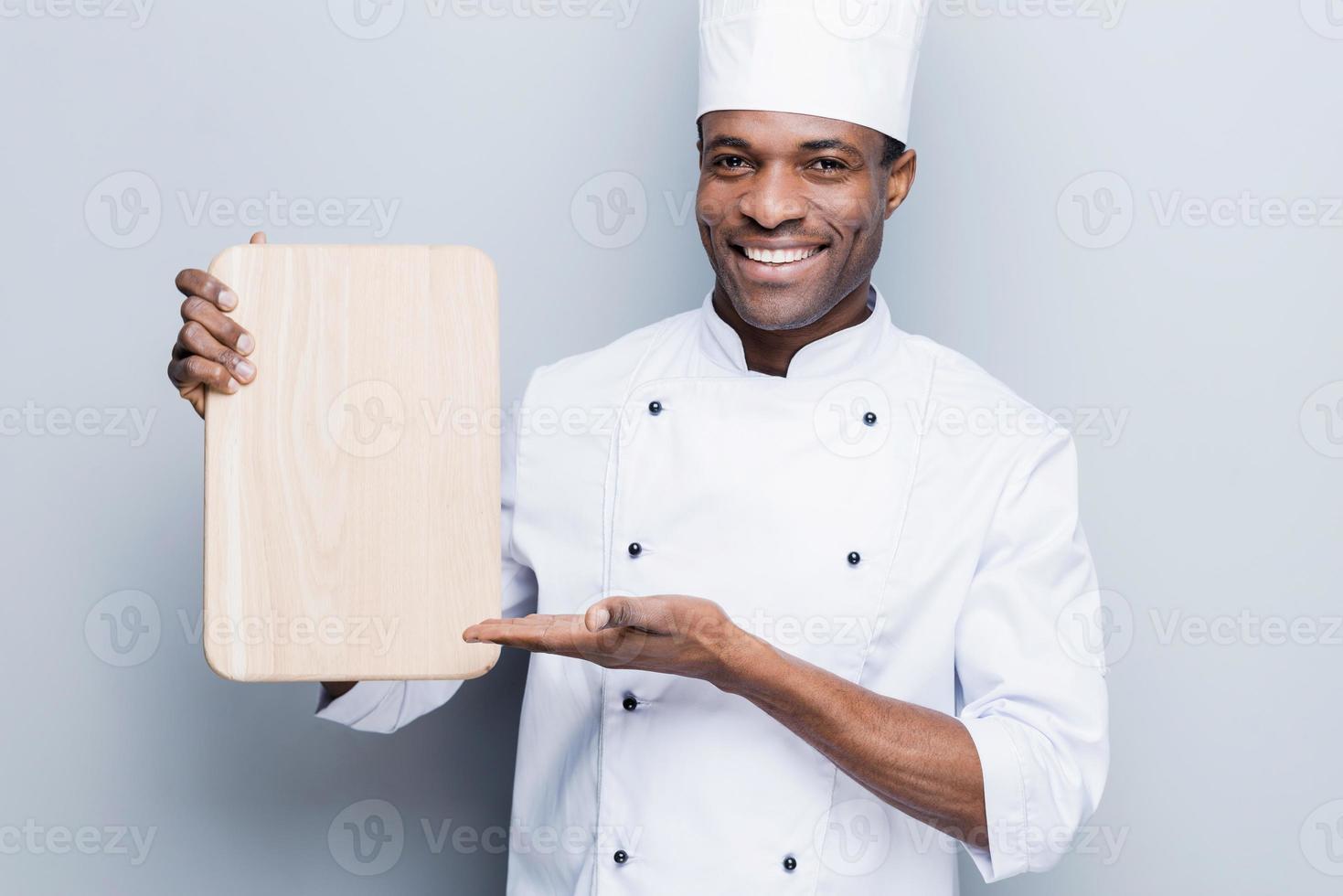 specialerbjudande från kocken. foto