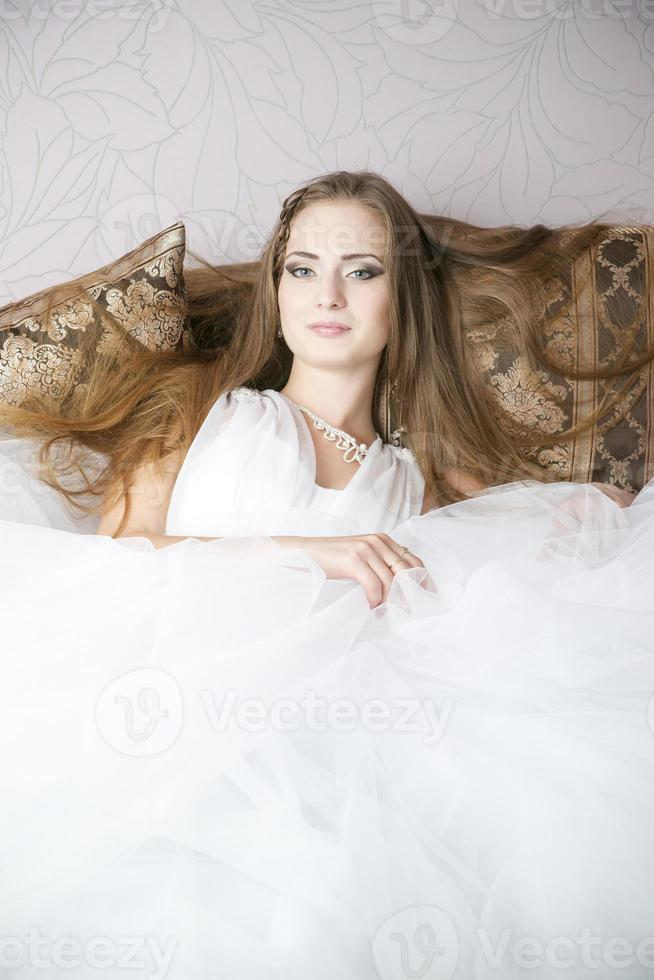 professionell makeup frisyr brud foto