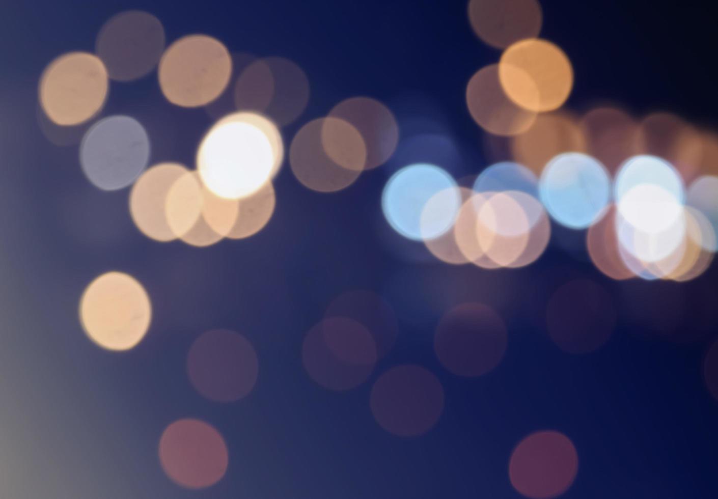 mjuka fokus bokeh-lampor foto