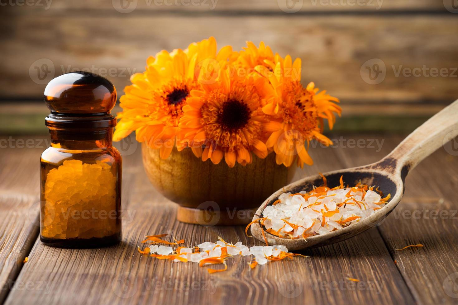 homeopatisk kalendula. foto