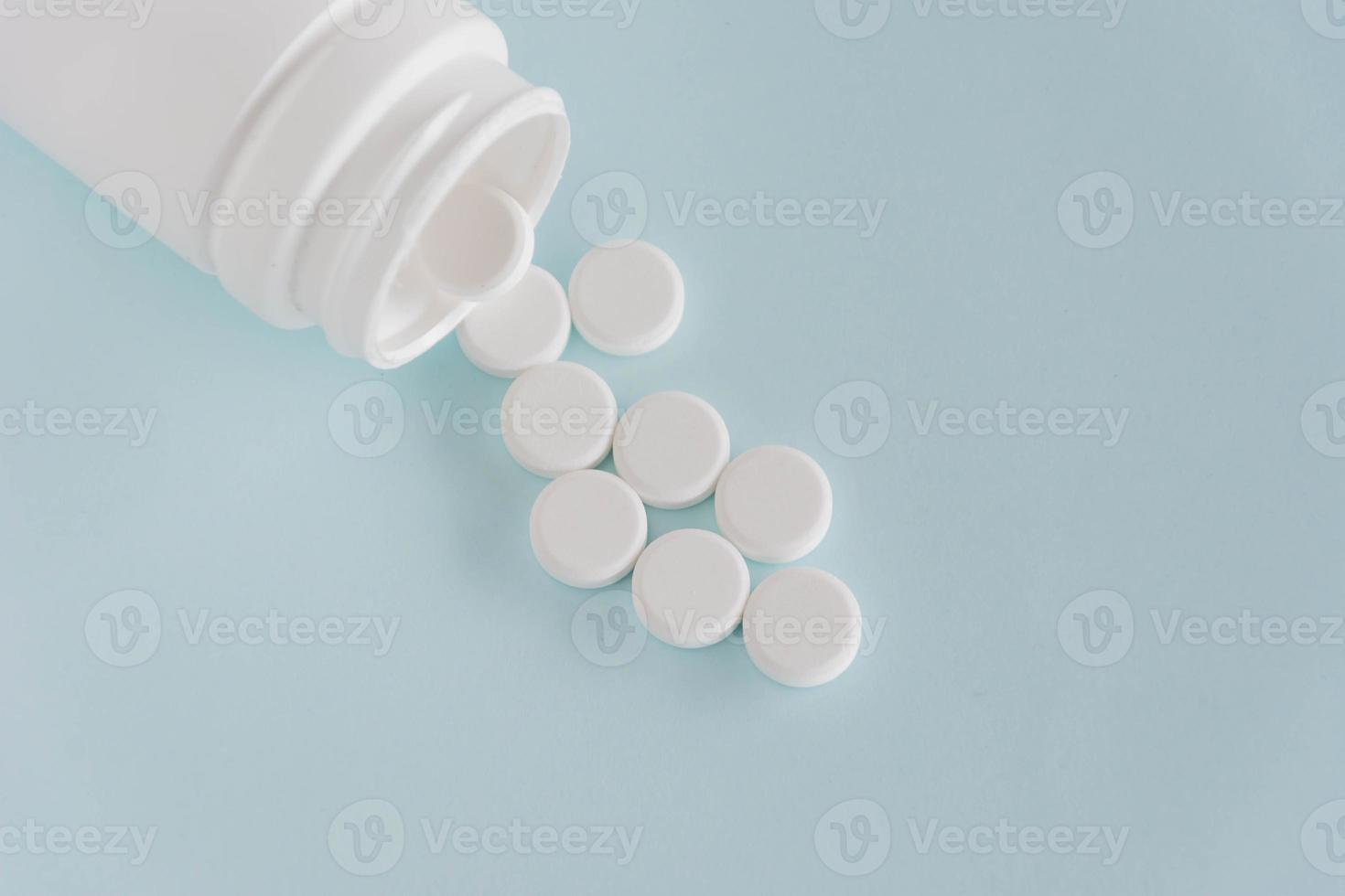 läkemedel och piller foto