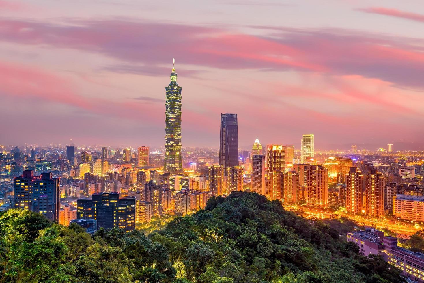 Taipei City, Taiwan foto