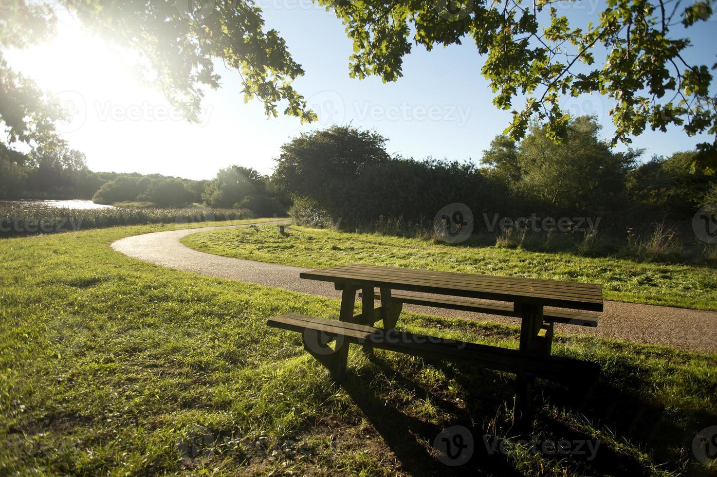 picknickbord foto