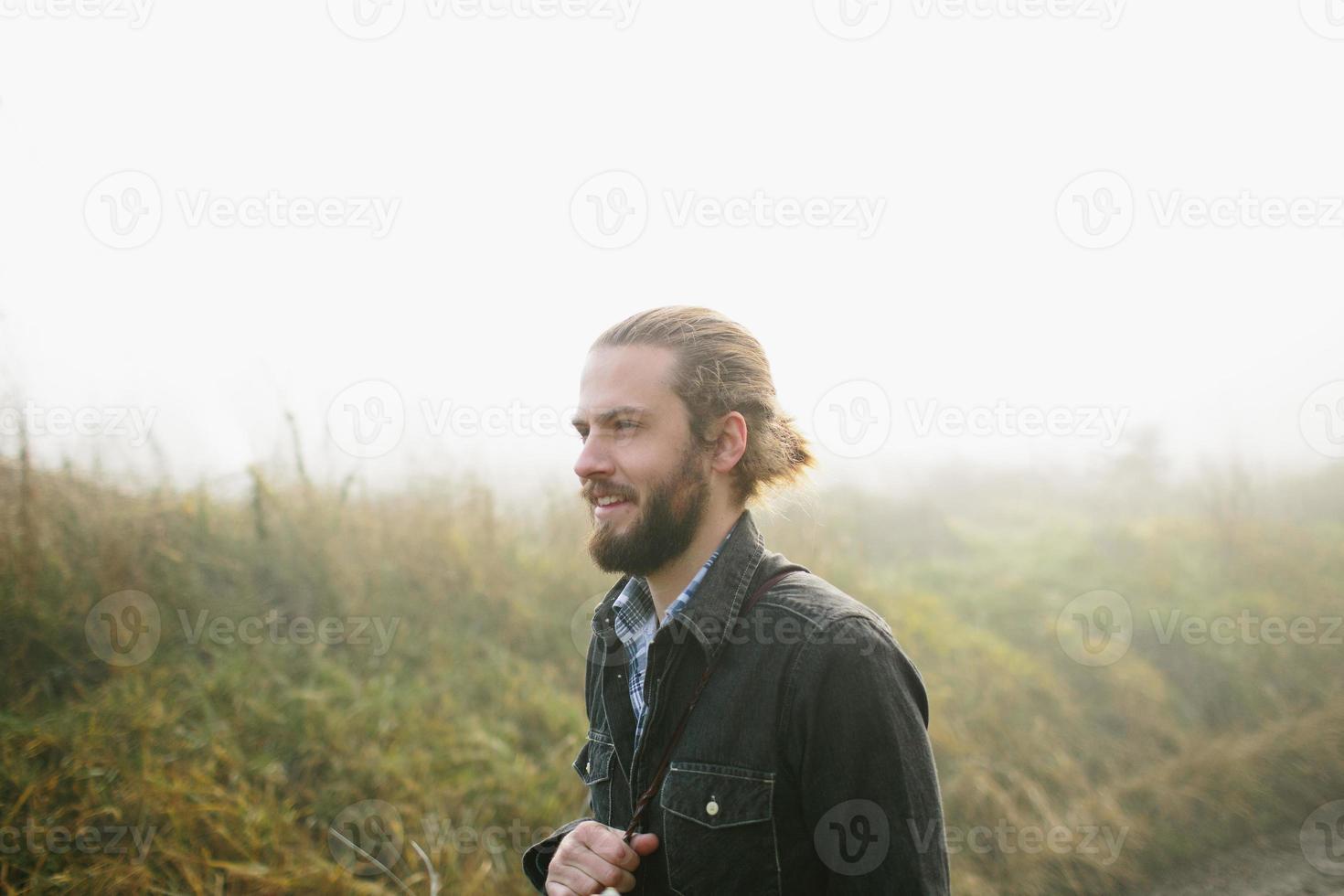 mandolin spelare foto