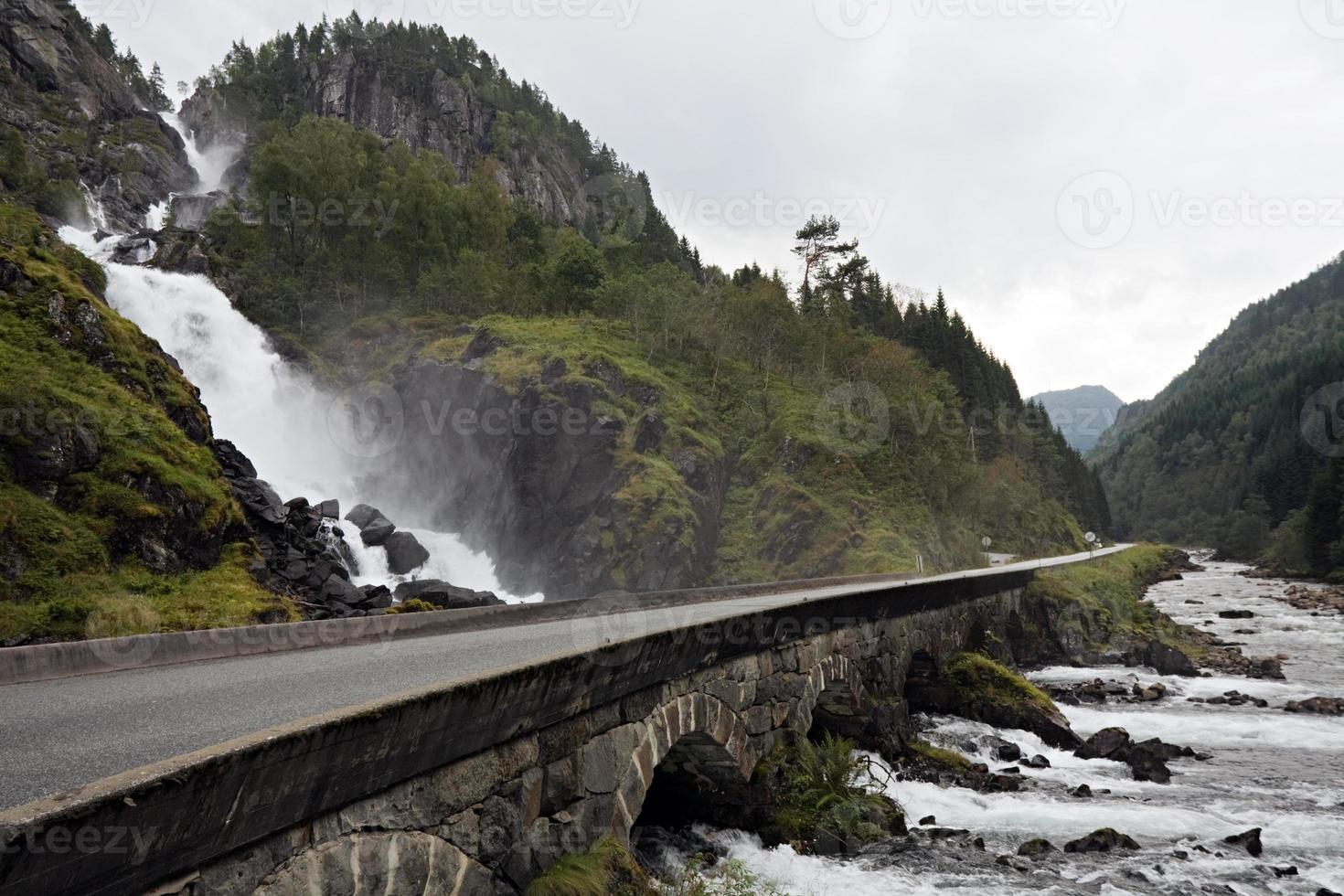 norska vägen foto