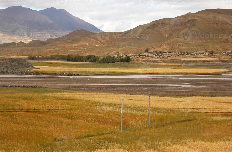 tibetansk by foto