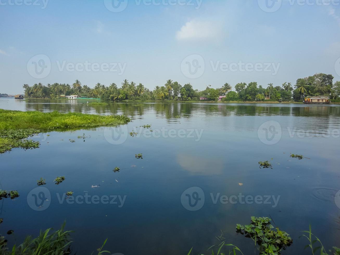 Alleppey, Indien foto
