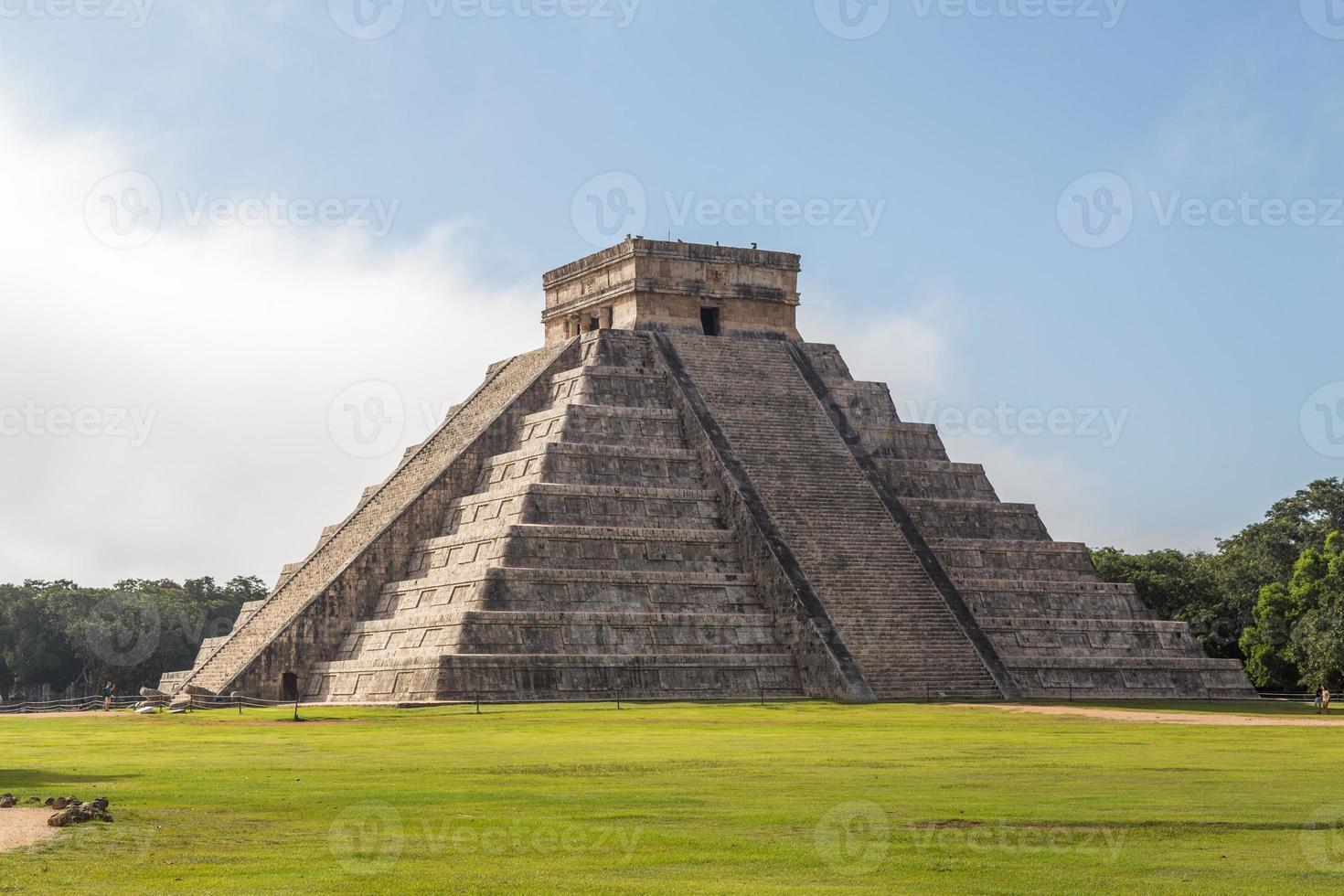 chichen itza-pyramiden foto