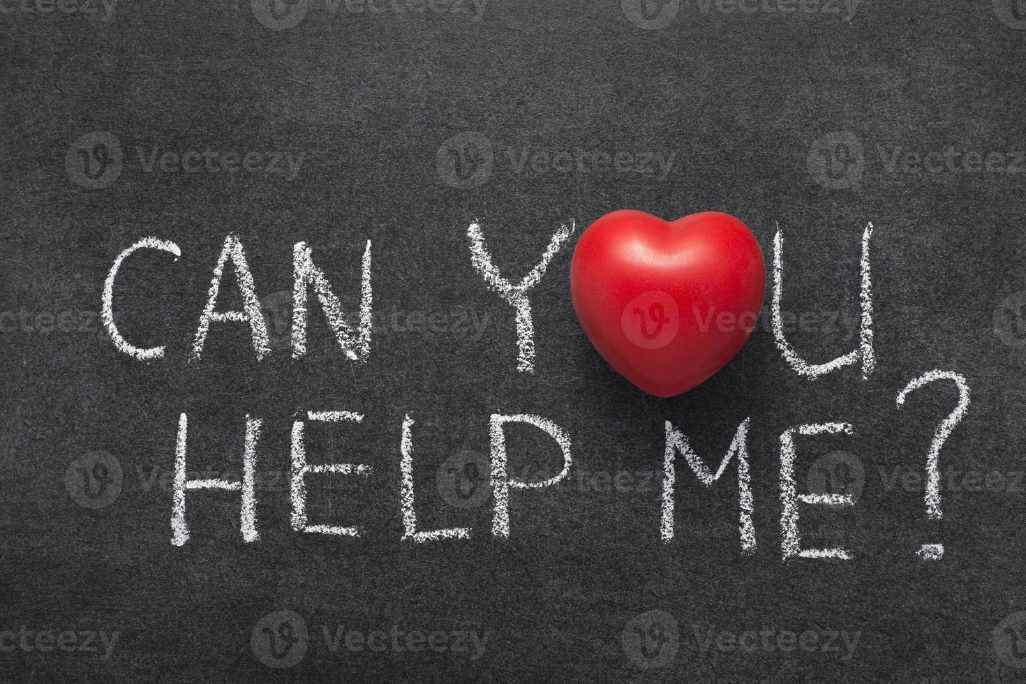 kan du hjälpa mig foto