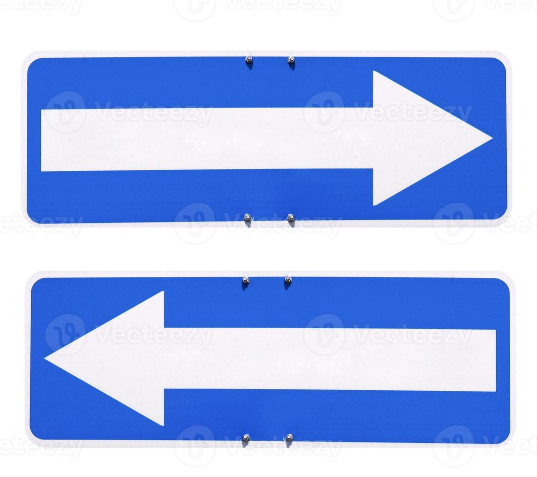 riktning pil tecken foto