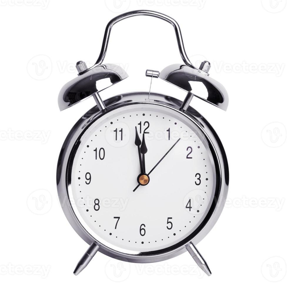 tolv timmar på en väckarklocka foto