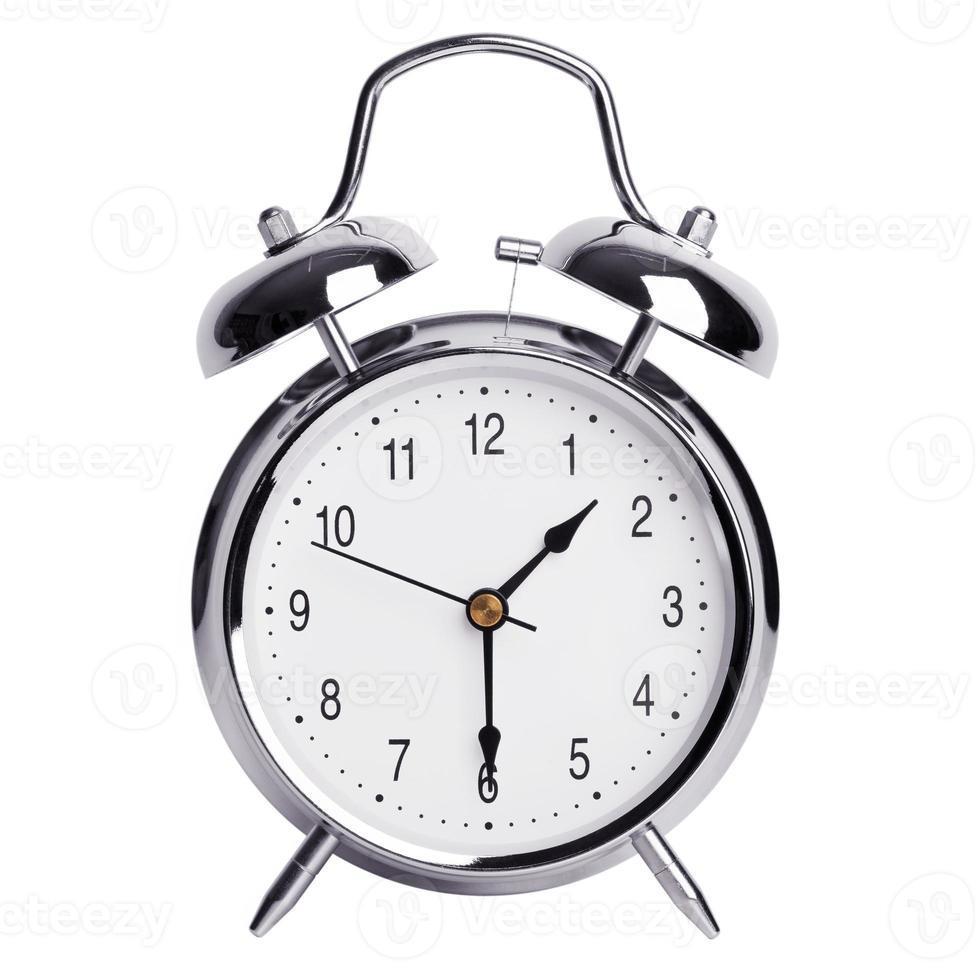 väckarklockan visar hälften av sekunden foto