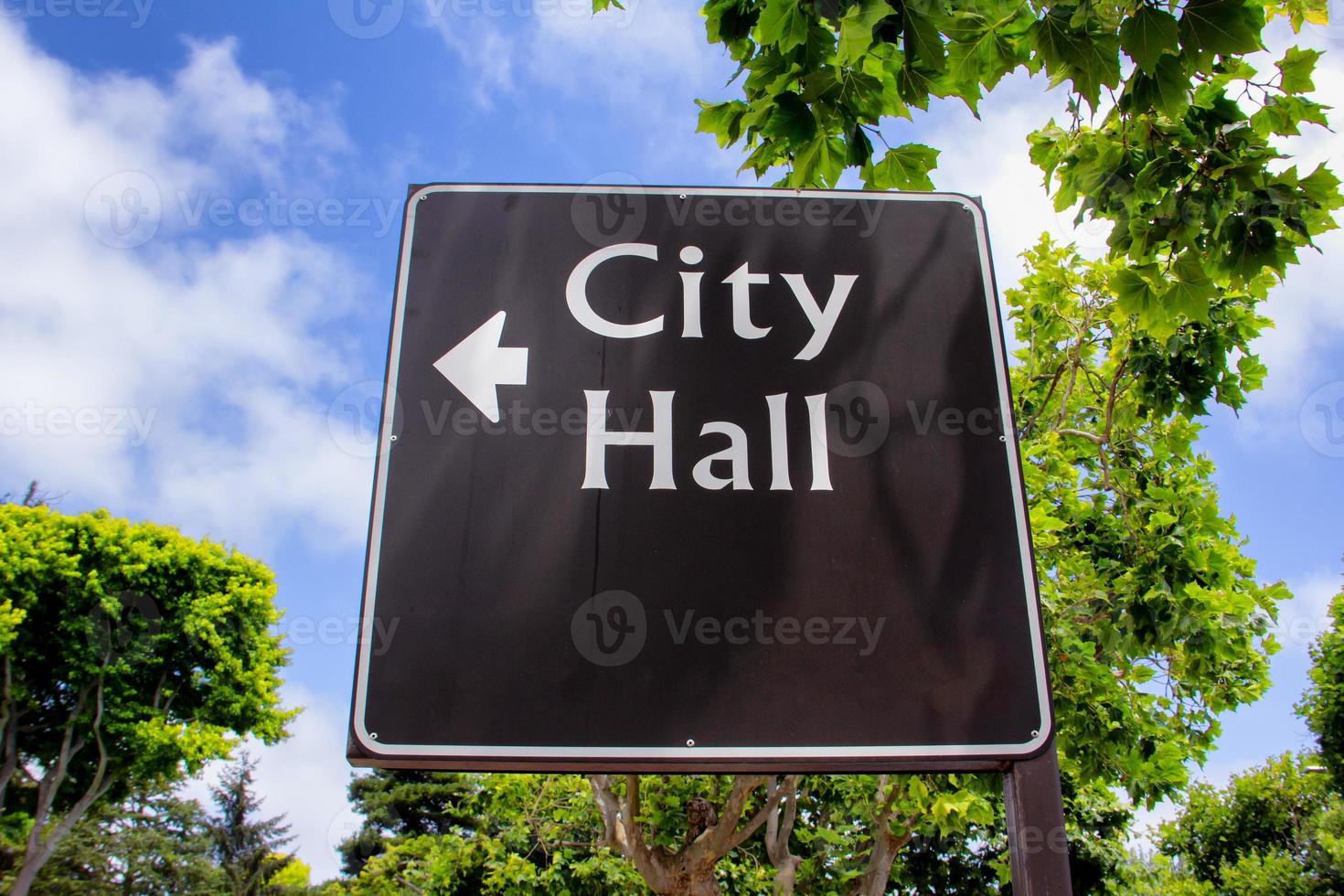 pilar stadshuset tecken foto