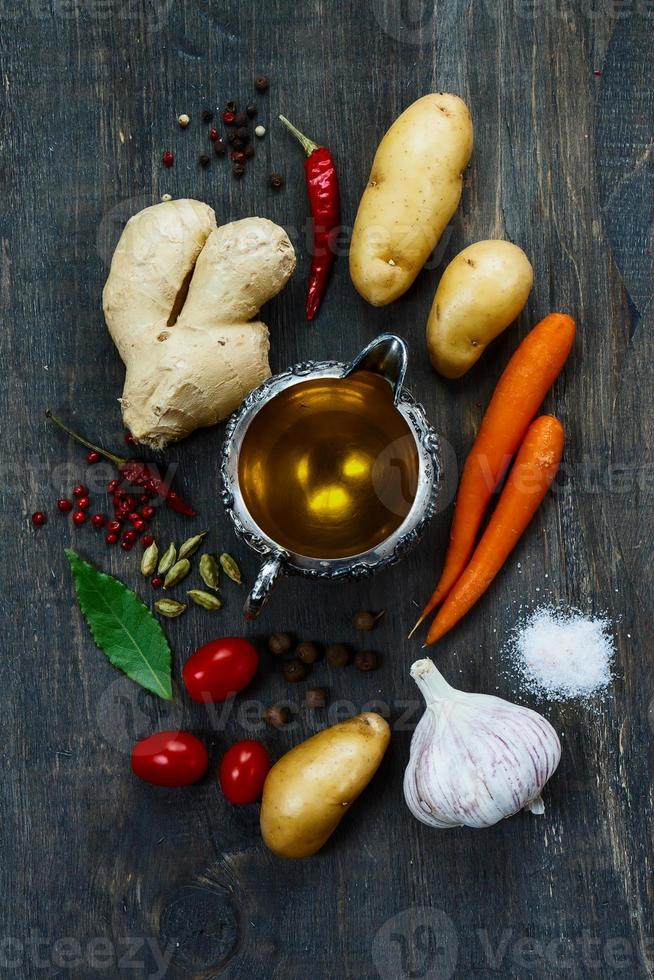 organiska grönsaker foto