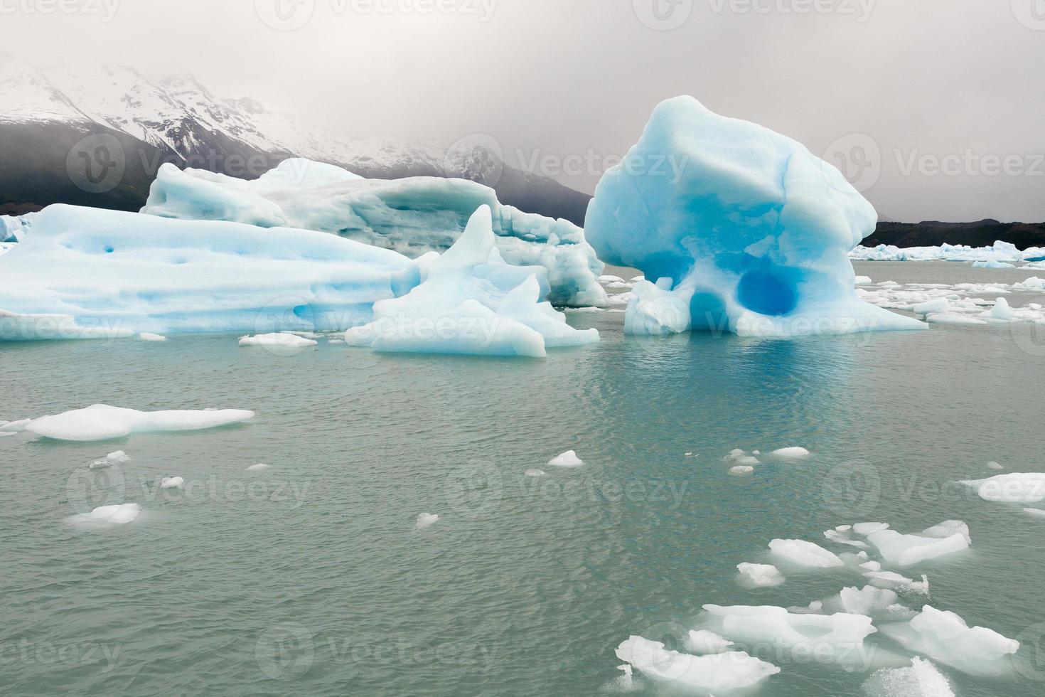isberg i graciar nationalpark foto