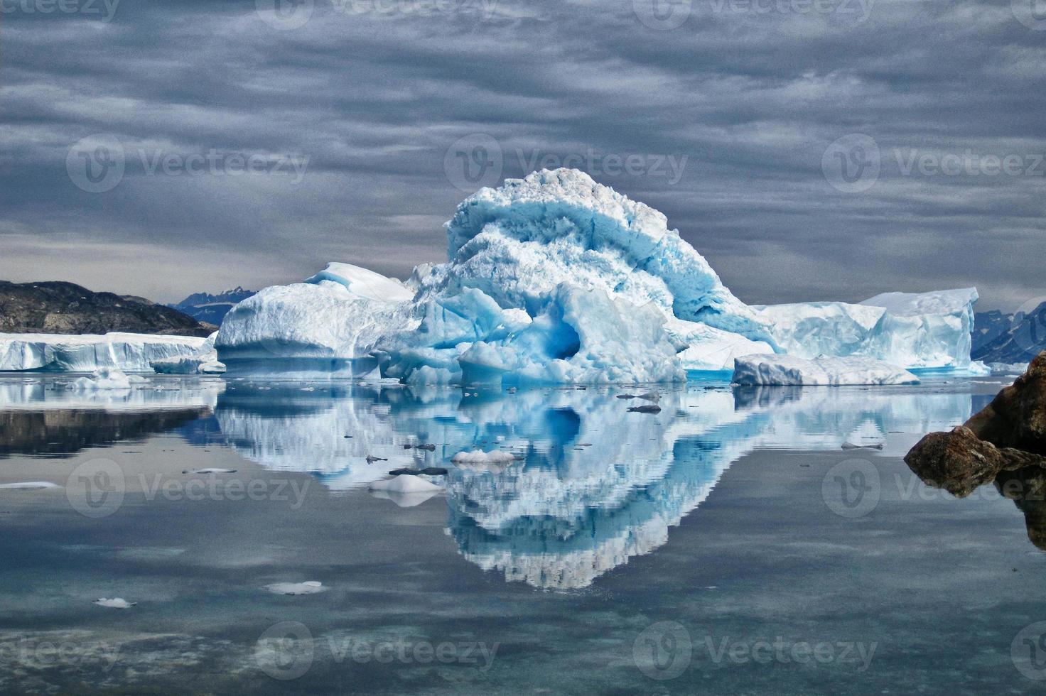 isberg i Grönland foto