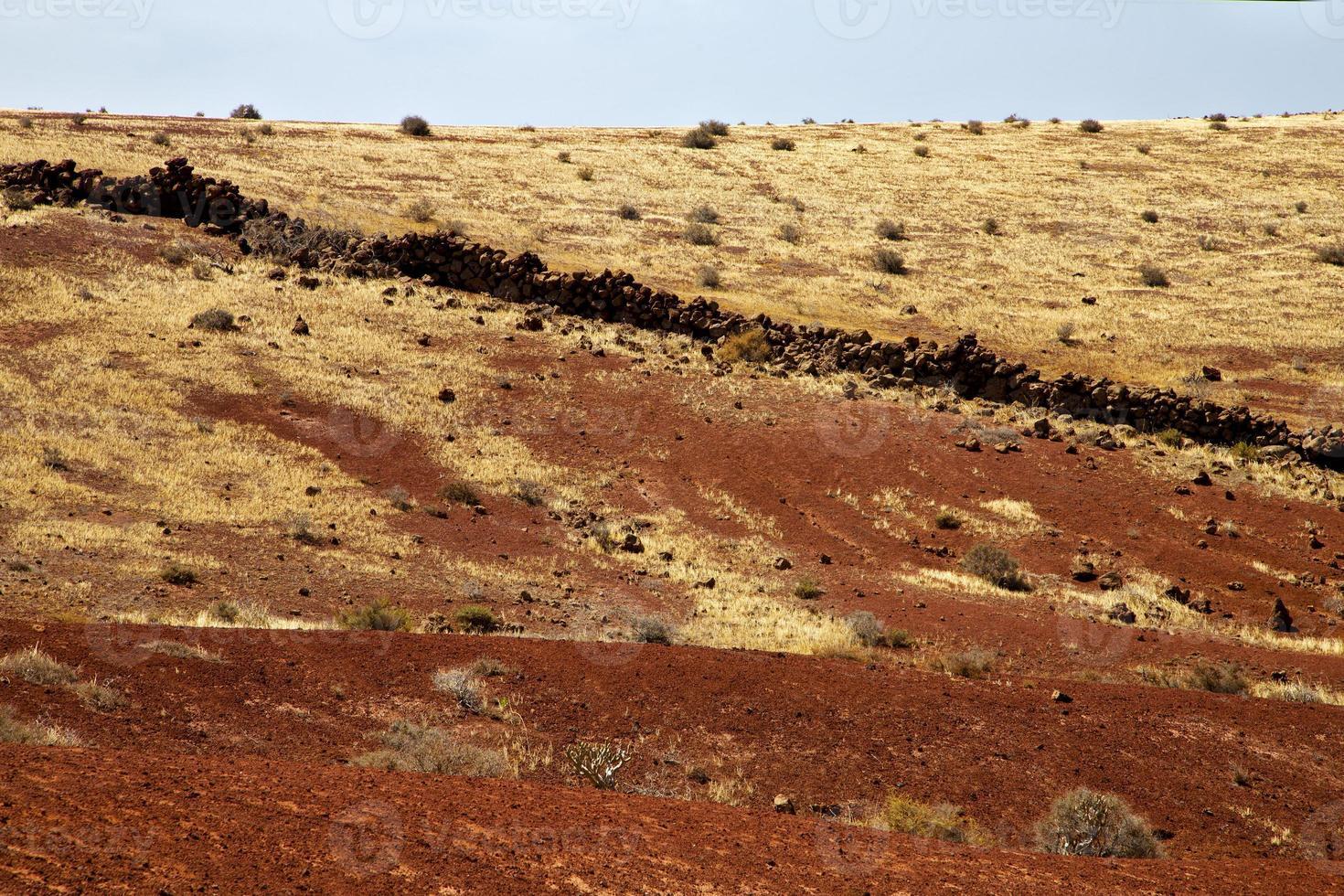 vulkanisk sten lanzarote spanien timanfaya rock sommar foto