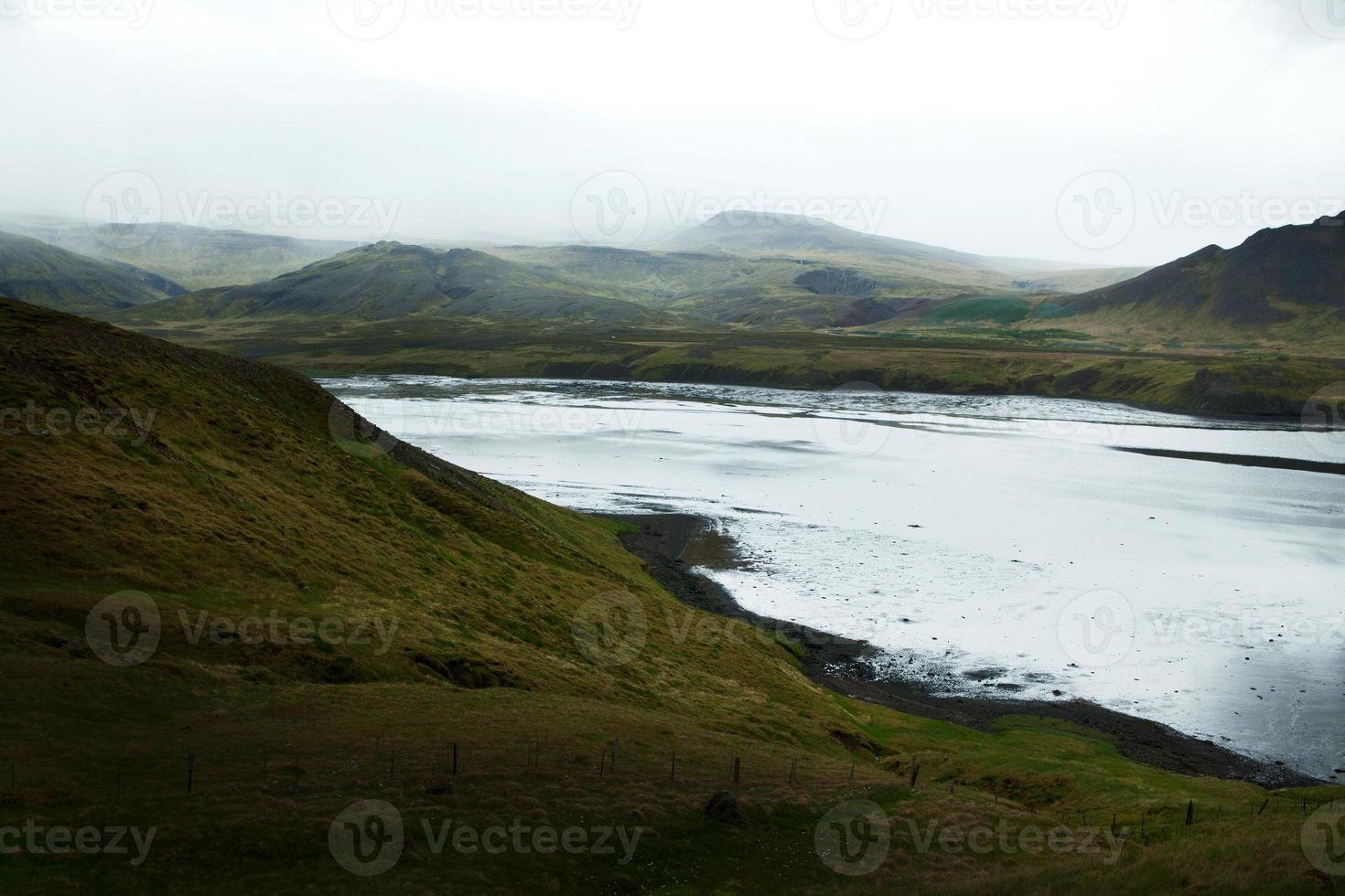 kustfjord på snaefellsneshalvön, västra Island foto