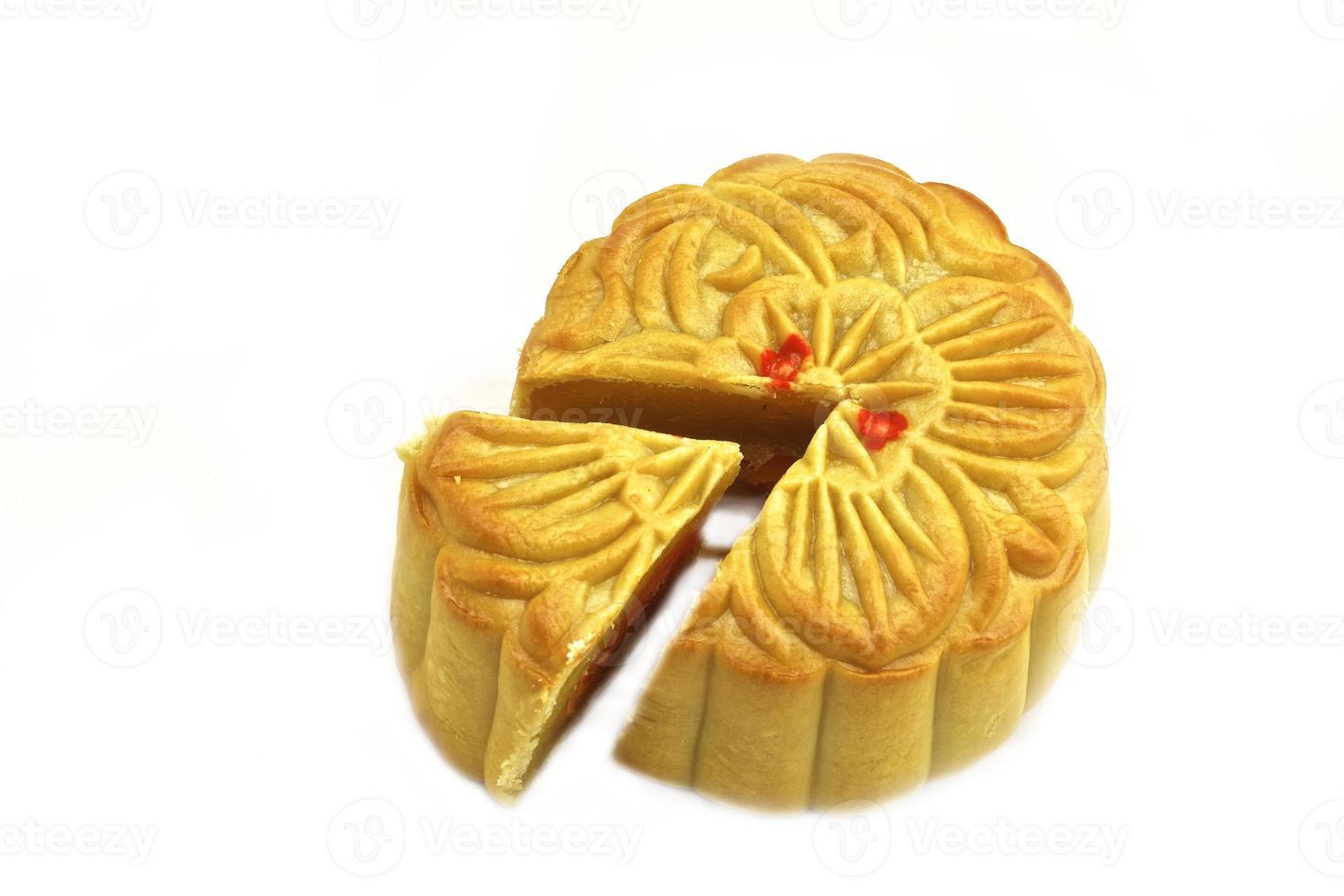kinesisk mooncake foto