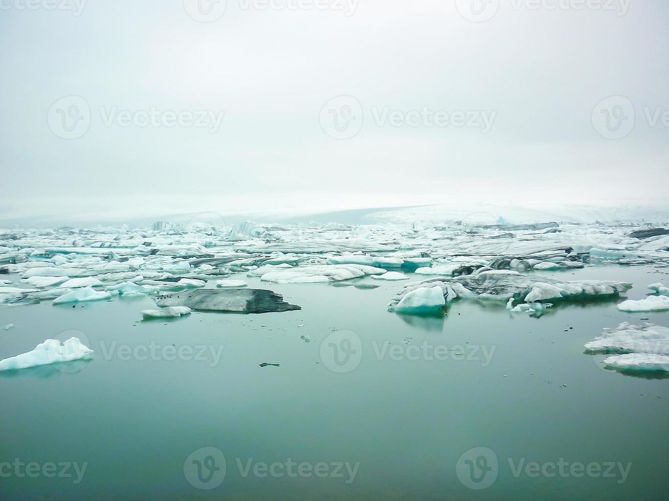isberg på Island foto