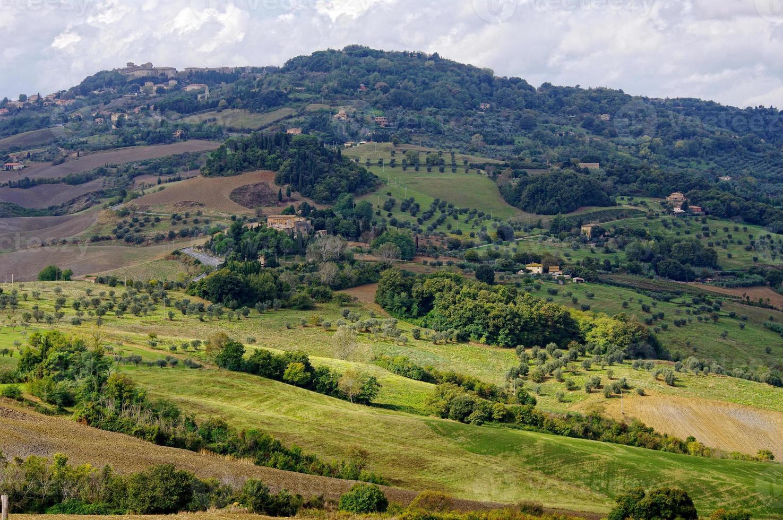 stad voltera, Toscana, Italien. foto