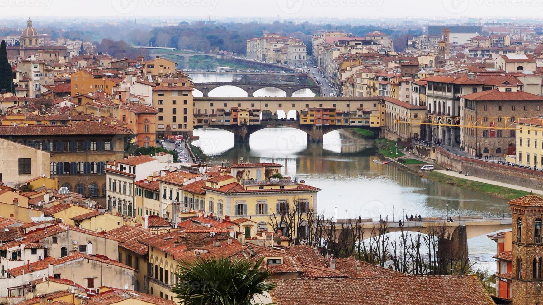 Ponte Vecchio, Florens, Italien foto
